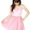 Pink strapless dress - strapless pink bow tuxedo dress | ustrendy
