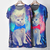 BR Unisex Women Men Galaxy Cat Graphic Print T Shirt Long Rock Punk Top Dress | eBay
