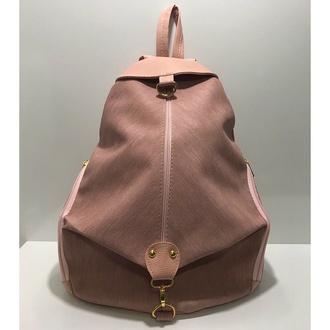bag nude bag backpack cute stylish girly wishlist