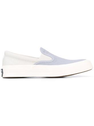 women sneakers cotton blue shoes