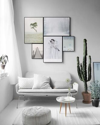 home accessory home decor minimalist home furniture cactus table wall decor hipster boho decor