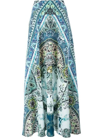 skirt maxi skirt maxi paisley