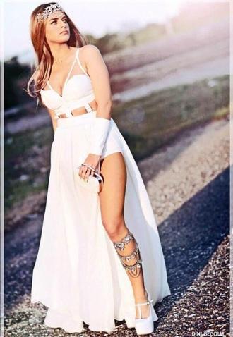 dress love prom dress long prom dress prom gown mermaid prom dress 2014 prom dresses backless prom dress gown cut-out dress long dress sleeveless dress style fashion formal dress v neck dress shoes