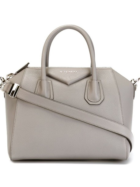 Givenchy women cotton grey bag