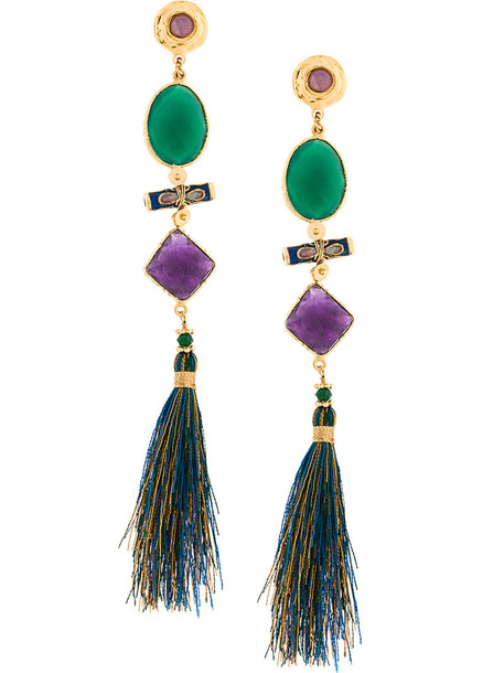 Gas Bijoux women earrings gold jewels