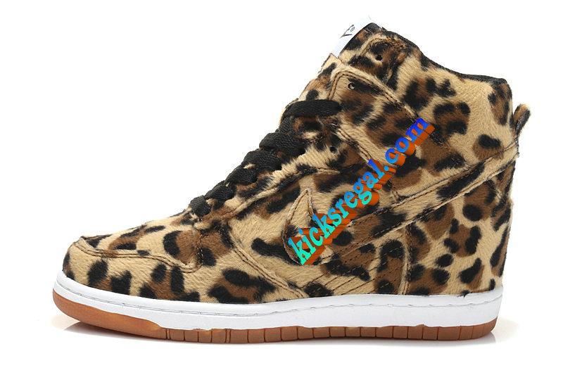 #Nike #Dunk SKY HI Leopard Womens Black Low Brown [thenorthfaceoutlet124798] - $68.63 :