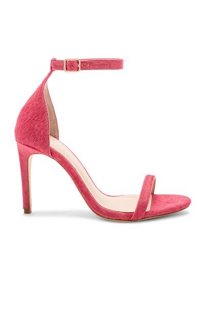 RAYE heel pink shoes