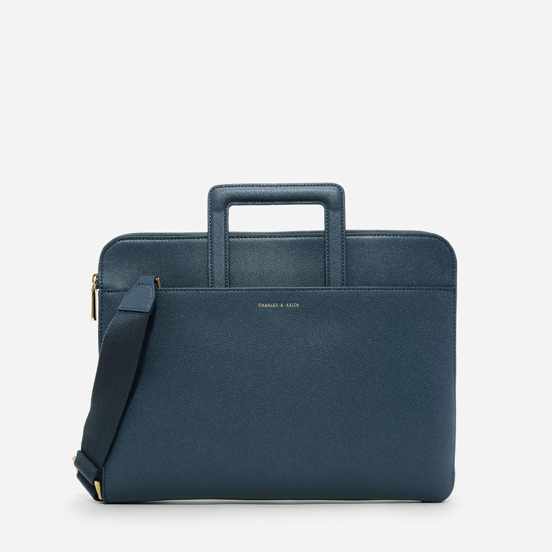 Ocean Basic Laptop Case   CHARLES & KEITH