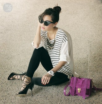 shoes sunglasses jewels bag t-shirt kryzuy