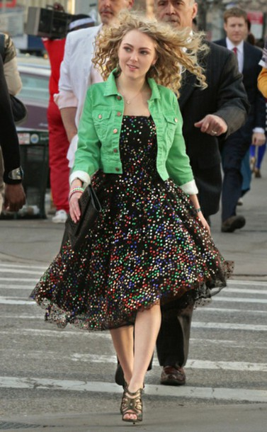 dress the carrie diaries carrie bradshaw tulle dress sparkly dress new york city vintage dress