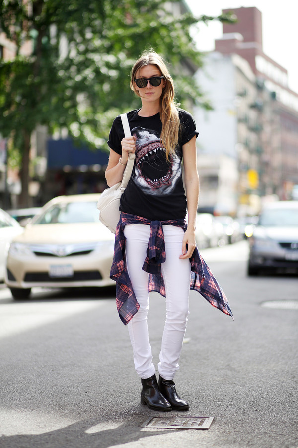 le fur coat sunglasses jewels t-shirt jeans shirt shoes