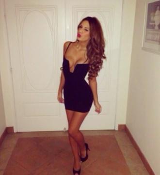 dress black bodycon hot stadium dress nookie bustier dress u wire