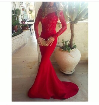 dress rose wholesale sexy prom dress mermaid prom dress red dress lace fashion classy maxi dress long sleeves girly elegant rosegal-dec red prom dress prom dresses 2016 2016 prom dresses long dress evening dress gown