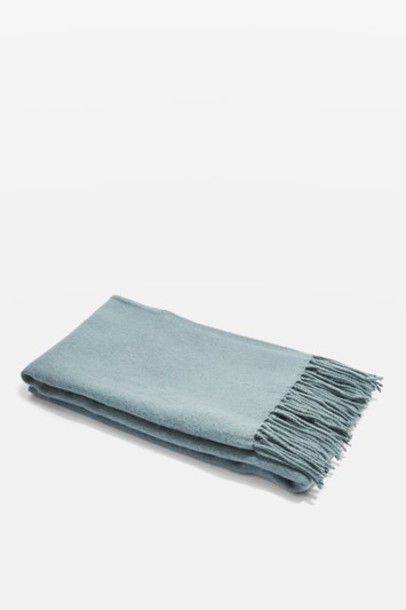 Topshop soft scarf teal