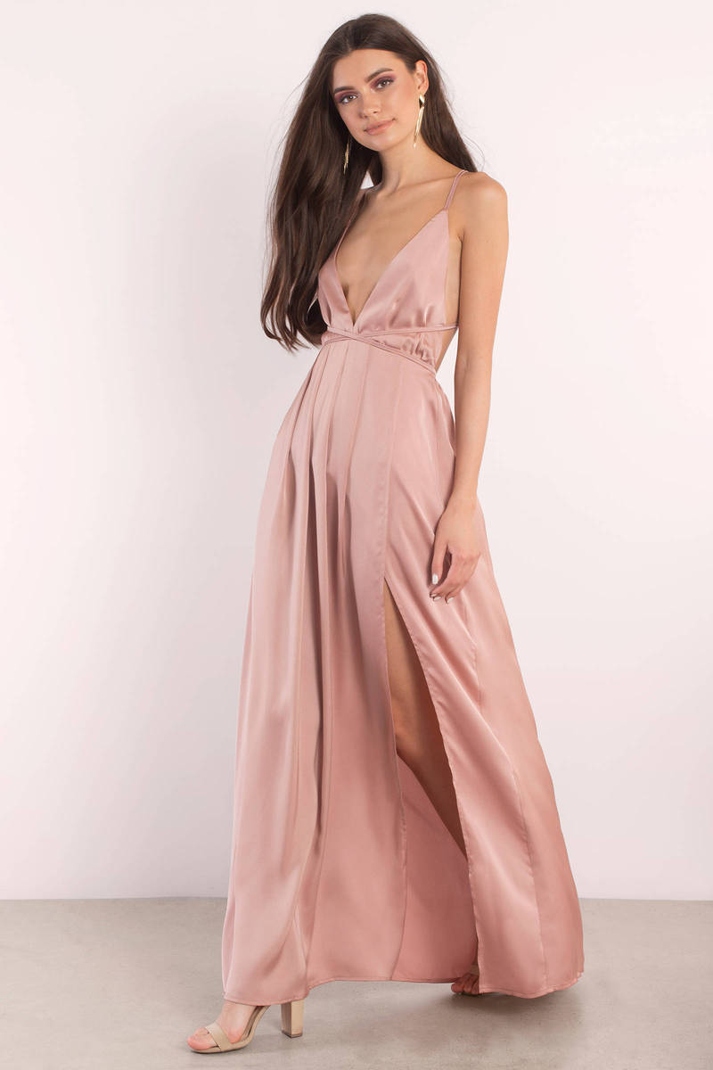 Your Love Satin Maxi Dress