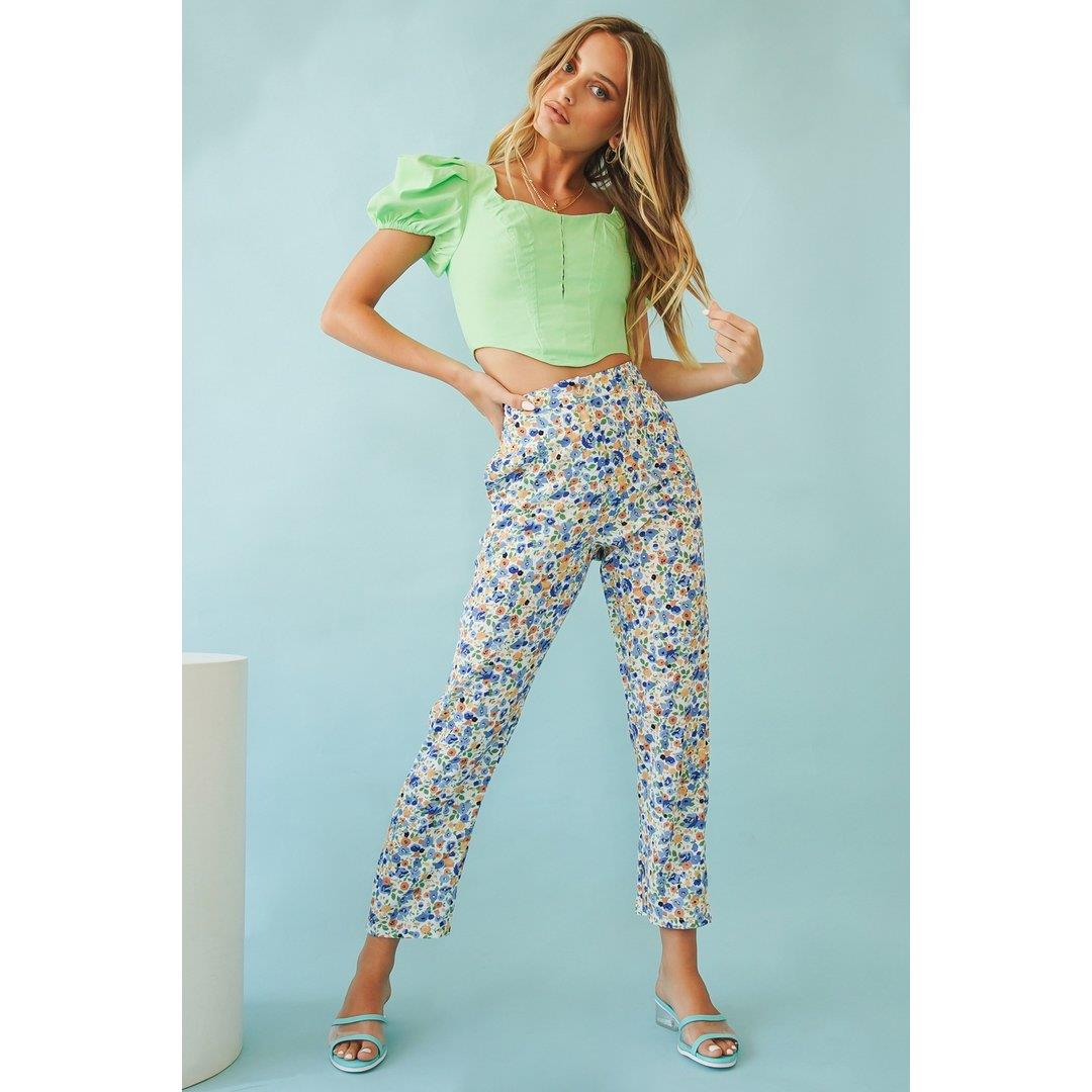 A Day In Italy Pants // Floral