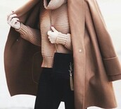 coat,brown,trench coat,fur coat,fall coat,long coat,camel coat,camel,camel waterfall coat,fur collar coat,camel long coat,coat fur camel jacket zara,classy coat,classy