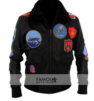jacket tom cruise leather jacket famous movie jackets top gun costume top gun top gun jacket