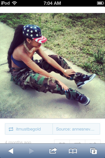 jeans dope pants camouflage camouflage camo pants baggy pants baggy camo pants hat jewels