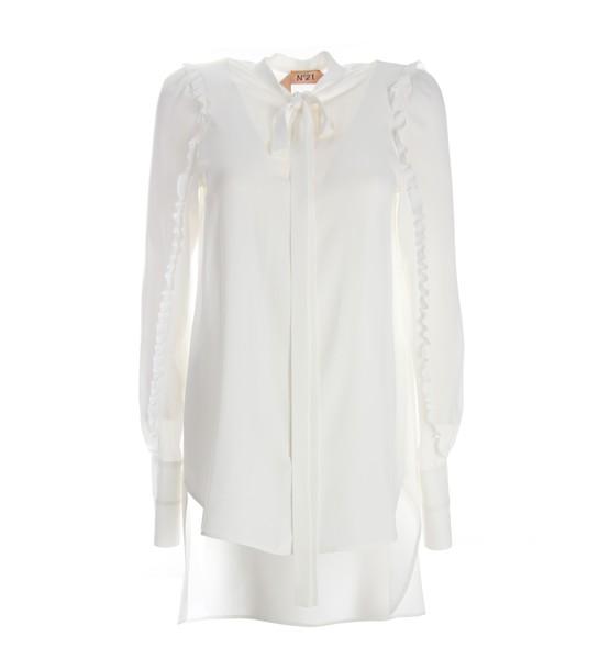 N.21 shirt white shirt white top