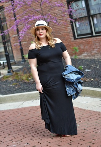 mommyinheels blogger dress jacket shoes hat