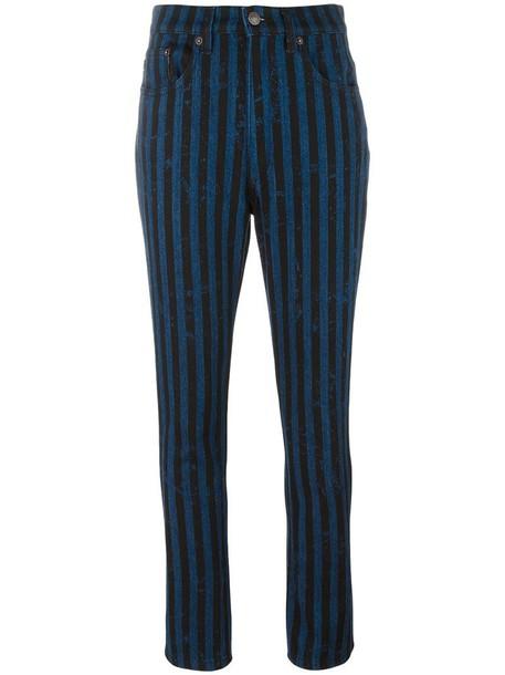 jeans women cotton blue