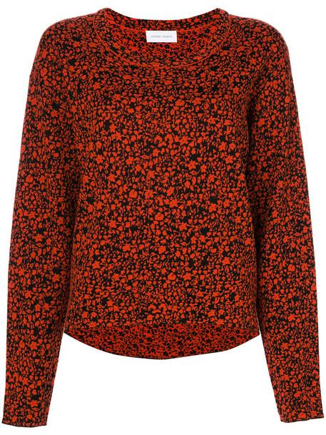 Christian Wijnants jumper women wool red sweater