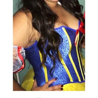 yellow tutu costume