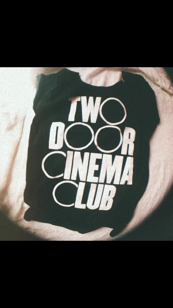 shirt two door cinema club t-shirt