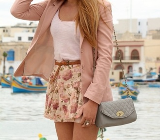 bag leather bag small bag girly skirt blouse jeans belt jewels
