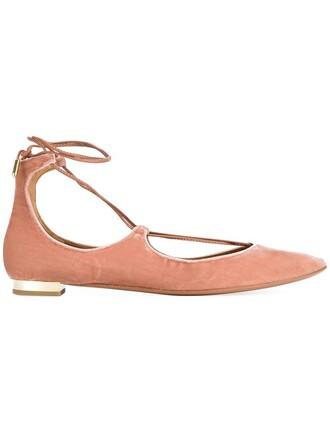 shoes lace purple pink