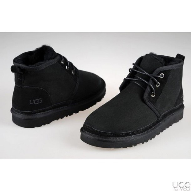 shoes, black, black boots, mens shoes, grey, grey sneakers, black shoes, menswear, ugg boots, furry uggs, men uggs, uggs sneaker, ugg shoes, black uggs fur ...