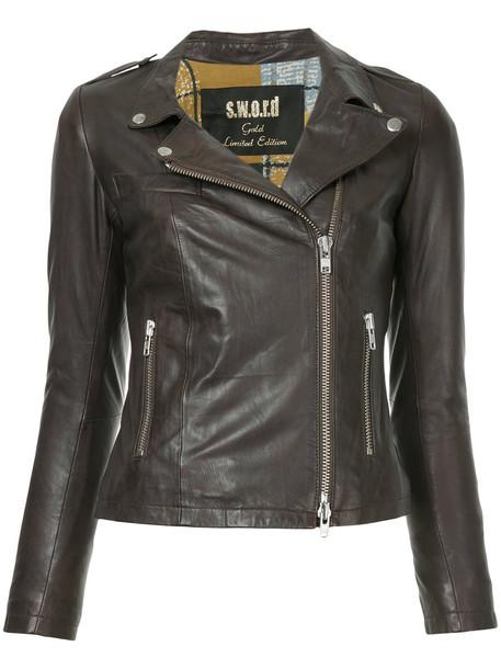 jacket biker jacket women leather black