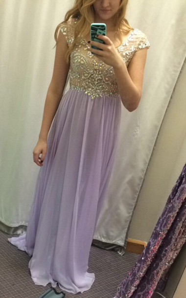 dress prom dress purple dress