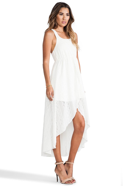 L*SPACE Swept Away Crochet Dress in Ivory | REVOLVE