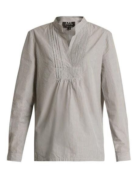 A.P.C. top cotton white