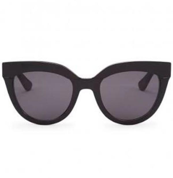 sunglasses black cat eye xanthe wessen sunnies glasses black sunglasses accessories Accessory