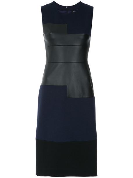 Gloria Coelho dress short dress short women spandex blue