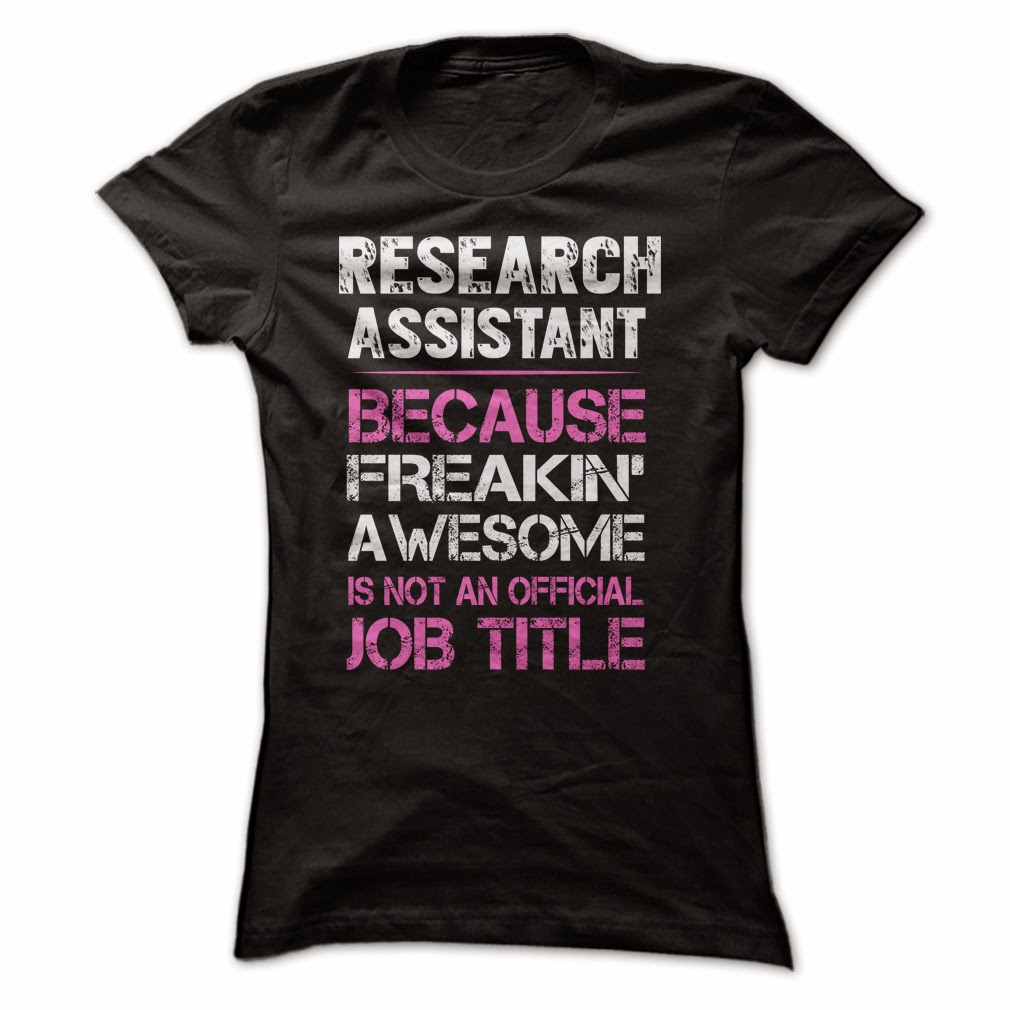 Awesome Research Assistant T-Shirt & Hoodie