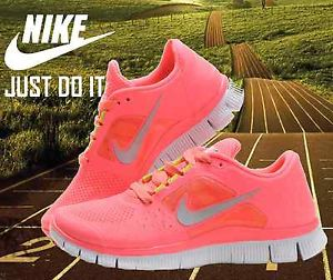 457680d7ef94c Womens Nike free run 3 5.0 Size UK 6.5 running Trainers shoes Pink ...