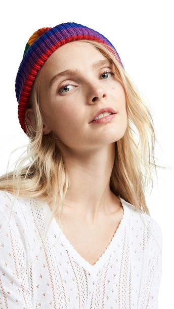 Marc Jacobs Stripe Hat in multi