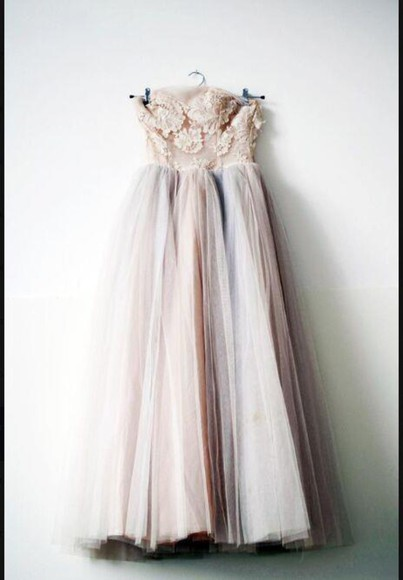 prom dress dress tulle princess