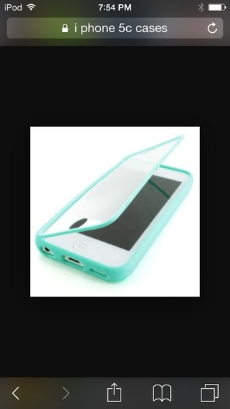 phone cover baby blue