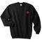 Rose flower pocket sweatshirt - basic tees shop