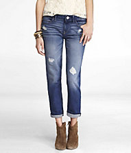 ANKLE ROLLED BOYFRIEND JEAN | Express