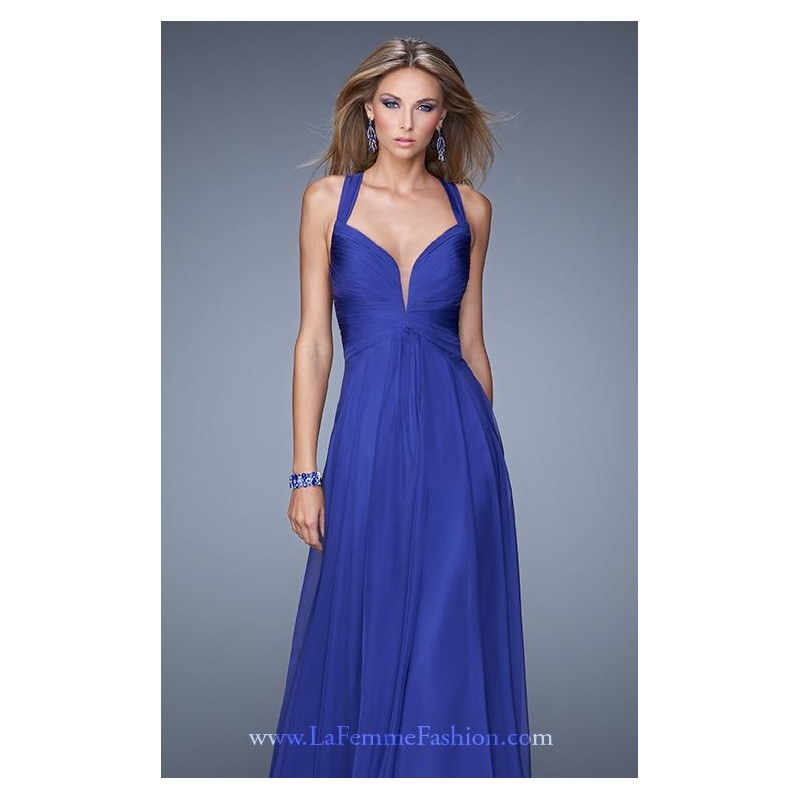 Halter Neck Gown by La Femme 20995 - Bonny Evening Dresses Online