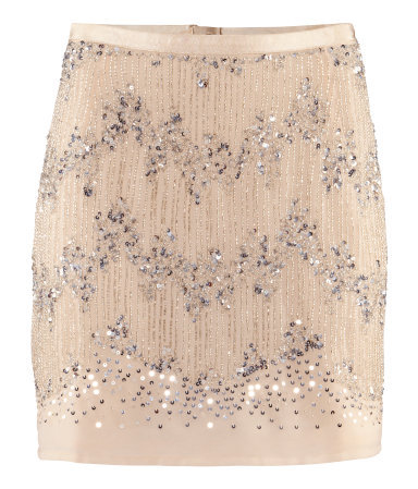 H&M SEQUIN SKIRT on The Hunt