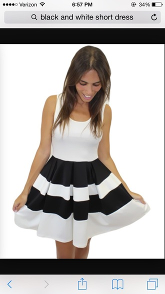 dress black and white style