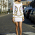 White Sexy Dress - Bqueen  Ruxandra Ioana In Embellished   UsTrendy