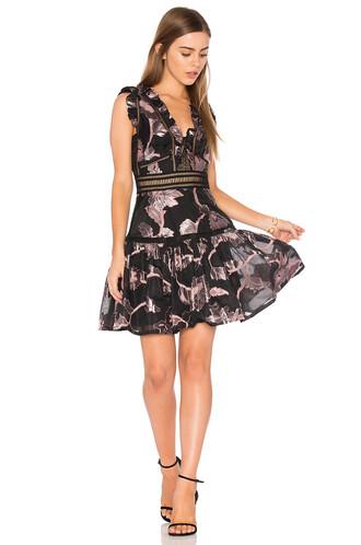 dress metallic dress sleeveless metallic black